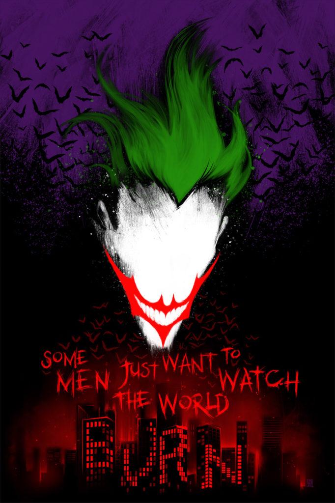 Dark Knight Joker Clown Prince