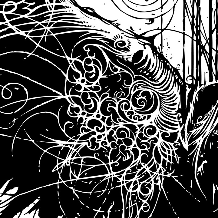 Of Particles and Angels - detail - Vincent Carrozza