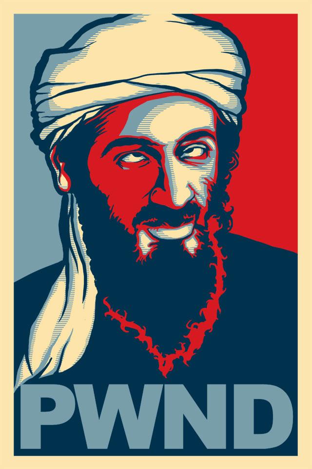 Osama Bin Laden PWND Alternate version