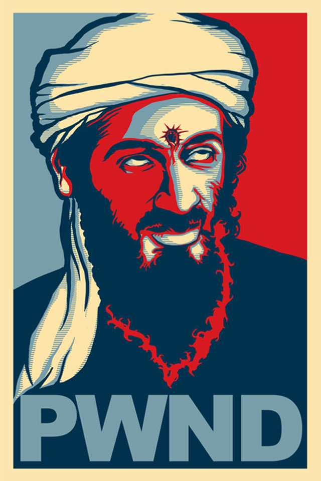 Osama Bin Laden PWND Original
