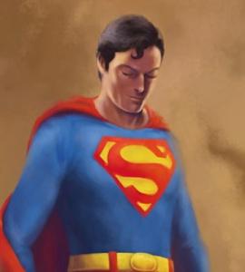 Believe – Superman Painting