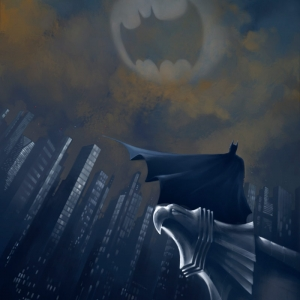 Guardian – Batman Painting