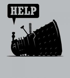 Help – Drunk Dalek