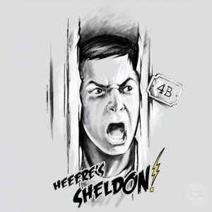 Here's Sheldon!