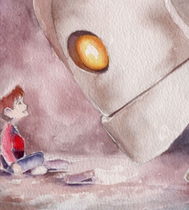 The Iron Giant Watercolour Print Set