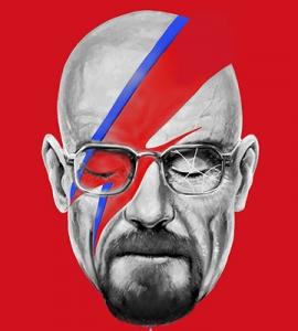 A Lab Insane – David Bowie x Walter White