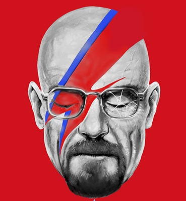 A Lab Insane – David Bowie x Walter White