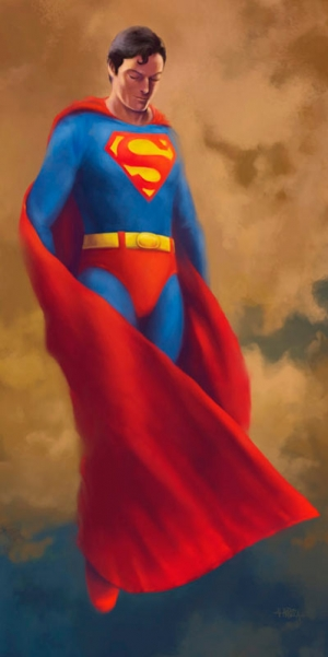 Believe – Superman Painting
