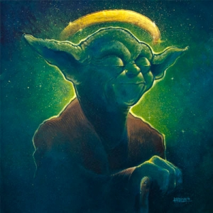 The Contemplation of Saint Yoda