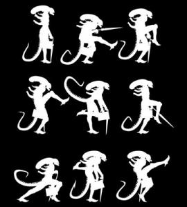 Ministry of Alien Silly Walks