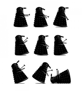 Ministry of Dalek Silly Walks