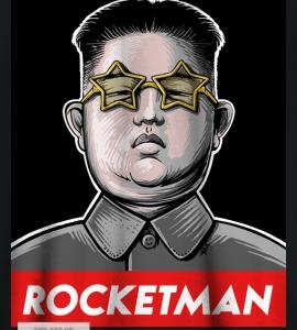 Rocket Man Kim Jong-Un