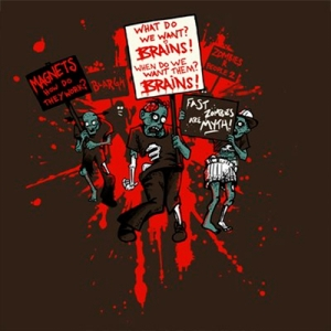 Zombie Protest – shirt.woot Exclusive